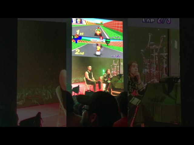 Tyler Vs Noah Twenty one pilots Mario Kart 64 @ DD Center