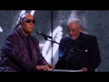 Bill Withers Stevie Wonder Ain't No Sunshine Rock &amp Roll Hall of Fame 2015 Induction