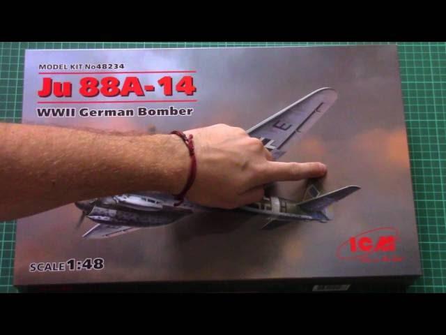 ICM 1/48 Ju 88A-14 (48234) Review