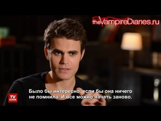 The Vampire Diaries: What to Say to Elena When She Wakes Up Русские субтитры
