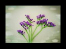 How To Make Statice Flower From Tissue Paper - Craft Tutorial