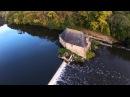 Le moulin du Boël à Bruz vu par un drone