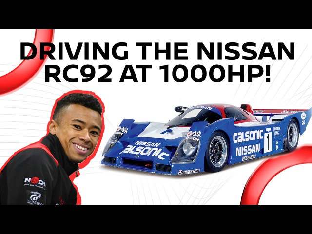 NISMO.TV — Driving The 1000HP R92CP at Fuji Speedway: Reaction On-Board