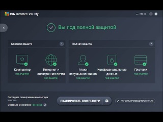 Обзор AVG Internet Security 2017.