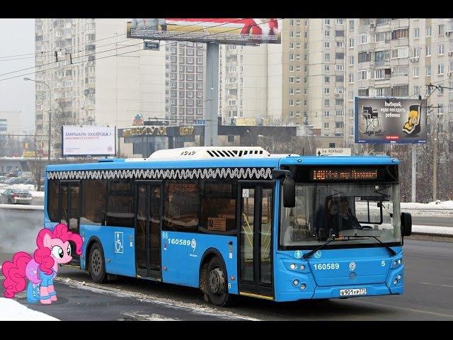 Поездка на автобусе ЛиАЗ 5292 65 77 № 160589 Маршрут № 55 Москва