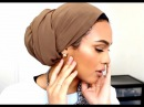 Turban Tutorial Low Bun as requested!