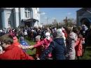 В нашім селі на горбочку . Гаївки. Парафія св. Василія Великого смт.Козова 18.04.2017