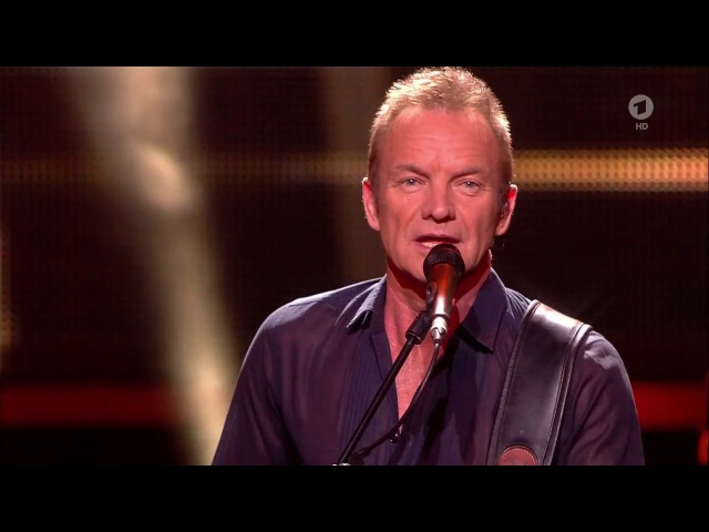 Sting - I Can't Stop Thinking About You - Bambi 2016 (Live) - Gruß von Matthias
