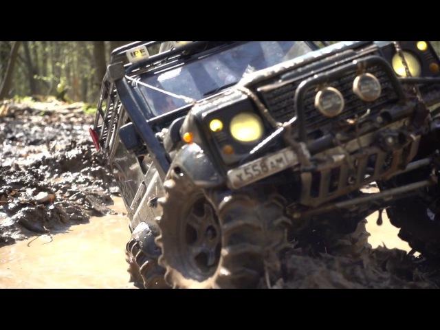 ЛЕНД РОВЕР НА АРОЧНЫХ КОЛЁСАХ Land Rover defender 90 WildBrit, rc defender 110 HCPU