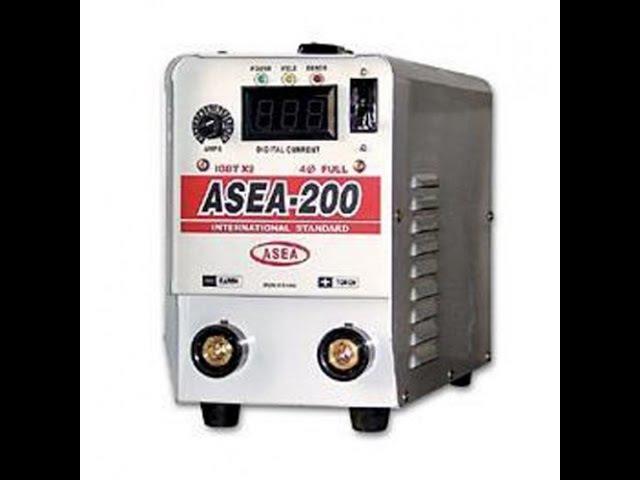 Ремонт сварочного аппарата ASEA 200D
