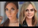 YouTuber Films Cara Delevingne Makeup Transformation