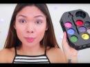 YouTuber Films Beauty Tutorial Using Art Supplies