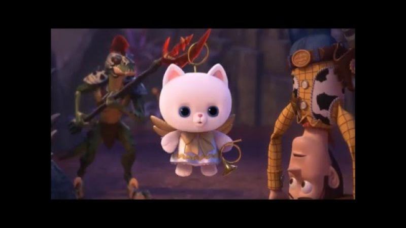История игрушек забытая временем - диалог котёнка
