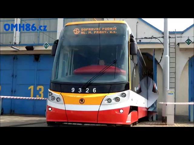 Představení nové tramvaje Škoda 15T4 pro Prahu