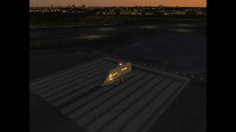 Сверхсекретный малозаметный воздушно-космический самолет Призрак ПаК-240М Гром at Midnight