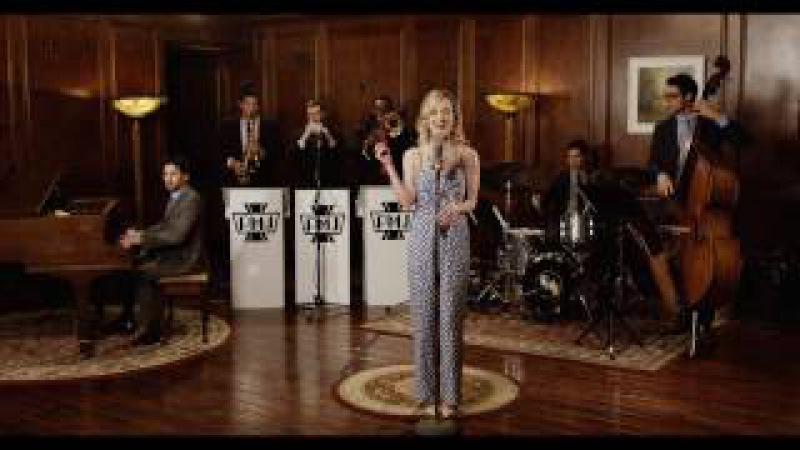 Poker Face 1946 Big Band Style Lady Gaga Cover ft Kelley Jakle