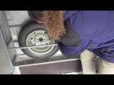 Ниша для запасных колес прицепа МЗСА 817732. ЕВРО тент. Оцинкованные крылья. ЦЛП АРИ...