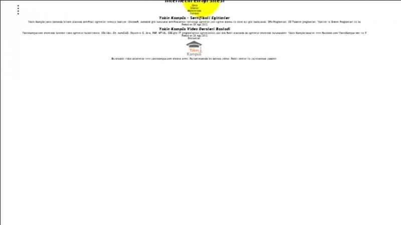 Yakın Kampüs - HTML5CSS3 Ders 9 - Esnek Kutu (Flexible Box) Yöntemi - Kısım 1