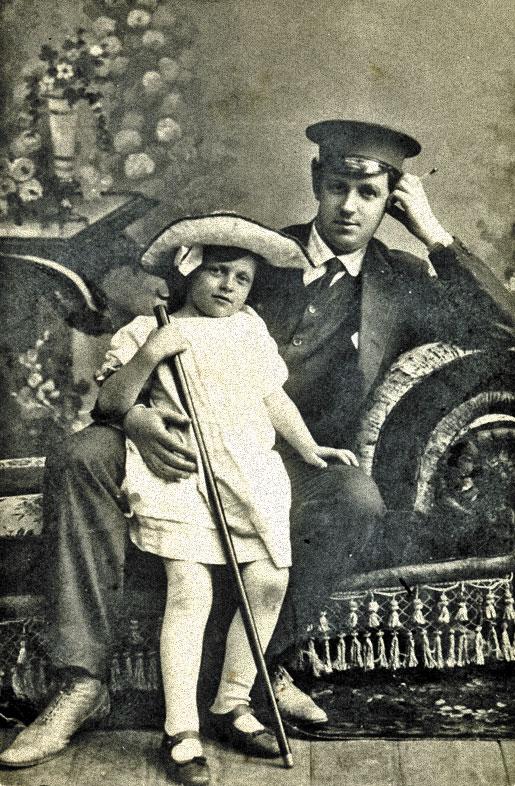 татьяна пельтцер с отцом