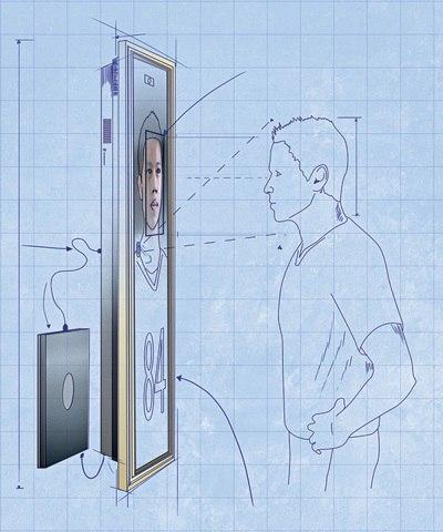 Зеркало, в котором можно увидеть себя в будущем