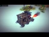 Первый взгляд на игру Besiege - Машина смерти - №1