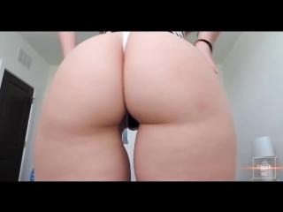 Шикарная большая жопа и горячий тверк [ пышная попка задница трясет жопой секс упругая красивая классная киска голая юная Twerk]