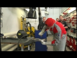 Конкурс профессионального мастерства сотрудников группы компаний БИЗНЕС КАР (жестянщики)