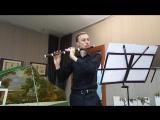 9- Г. Ф. Телеман - Фантазия . Исполняет Ян Ворошкевич (флейта траверсо).