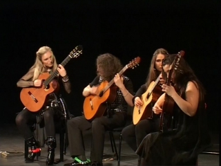 4-tissimo Guitar Quartet-Жора-Жара {19-02-10 ТКЗ Дворец на Яузе}
