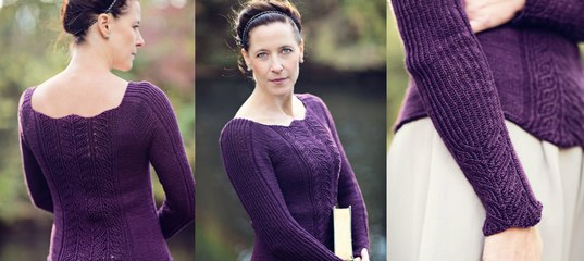 ec50da34439 Пуловер с глубоким вырезом Isabelle - Вяжи.ру