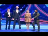 Актер и шоумен Михаил Галустян спародировал главу Чечни Рамзана Кадырова во время юбилейного выпуска КВН.