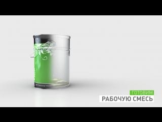 Технический процесс прозрачной отделки столов
