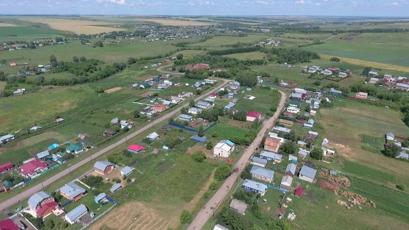 Мочалей (новый) с высоты 15 июля 2016 (Пильнинский р-он)