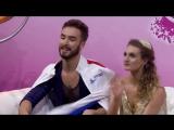 Gabriella PAPADAKIS Guillaume CIZERON Short Dance Trophee de France 2016 HD