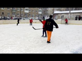 06.01.2017 хоккей на валенках в Каслях