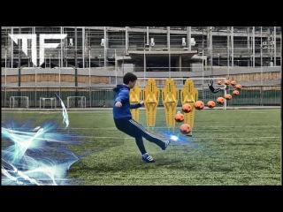 Crazy Free Kick Shots | Amazing trajectory 2016 | HD