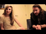 Another Earth director Mike Cahill and actress Brit Marling talk with author Elizabeth Licorish