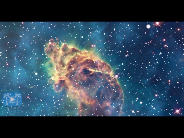 Celestial Relaxation 1 HR of 4K NASA SpaceGalaxy Footage 432HZ Ambient Music