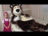 Маша плачет Мишка довел Машу до слез BAD BABY Медведь упал и сломал руку Маша и Медве...