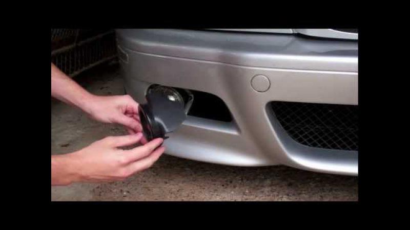 HOW TO: BMW E46 M3 / 330 ZHP / E39 M5 - Fog Light Bulb Replacement (Easy DIY)