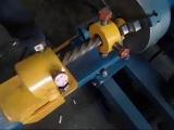 Универсальный станок Ковка-1. Работа модуля для усиления профильной трубы Звездочка