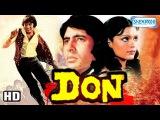 Don {HD} - Amitabh Bachchan - Zeenat Aman - Pran - Helen - Superhit Old Hindi Movie
