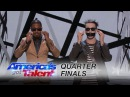 Tape Face | Quarter-Finals | America's Got Talent 2016