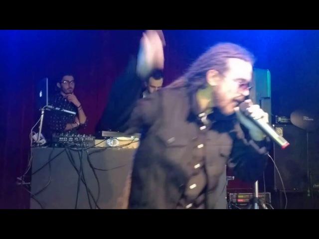 Detsl aka Le Truk. Moscow. Club16Tonn. 06.05.2016. Live. Favela Funk. BRO.