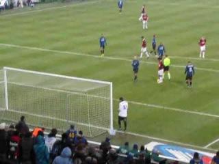 Rigore Parato di Julio Cesar su Ronaldinho Derby 2-0 Inter Milan 24.01.2010