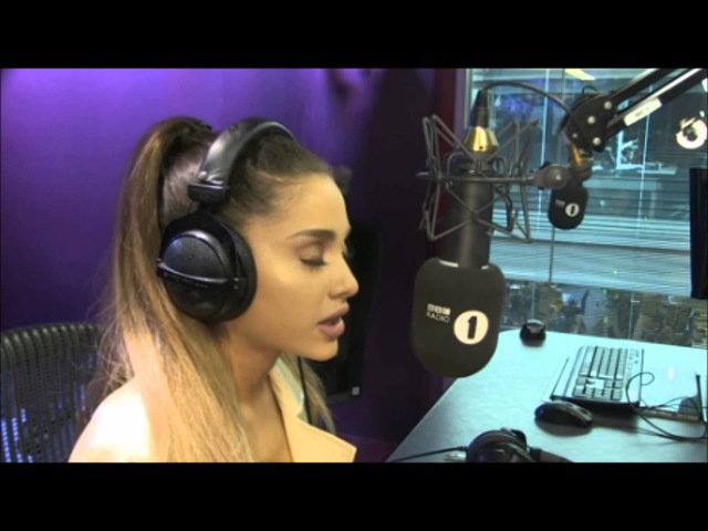 Part 2 Ariana Grande Grimmy BBC Radio 1 2016