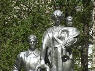 Митинг в День Победы в парке Белинского