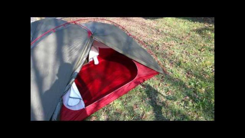 My new tent - a MSR Hubba Tour 2