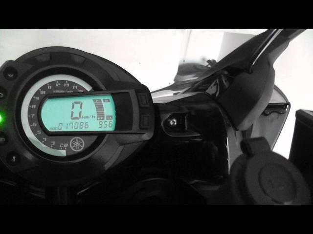 Обзор Приборка панель на Yamaha Fazer FZ6 Displey