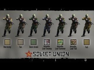 Heroes Generals. Soviet Camouflages. Герои и Генералы. Камуфляж СССР